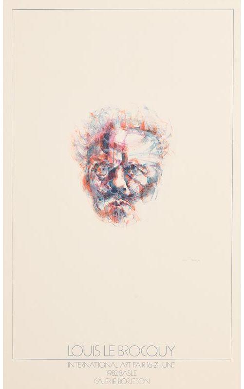 Louis Le Brocquy, Head of Strindberg at Morgan O'Driscoll Art Auctions