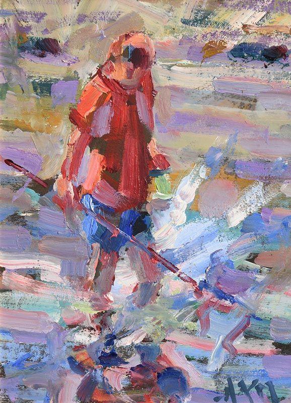 Arthur K. Maderson, Figure Tramore Beach at Morgan O'Driscoll Art Auctions
