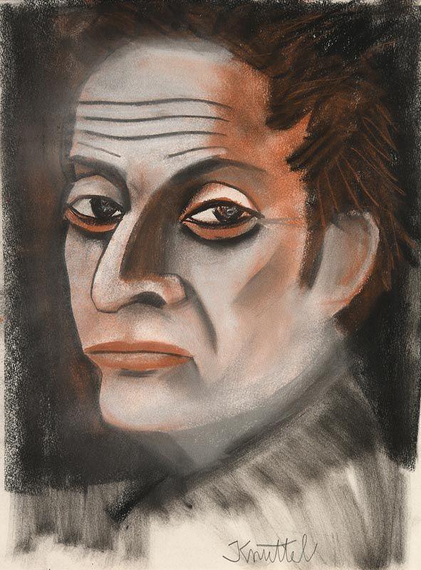 Graham Knuttel, Portrait of a Man at Morgan O'Driscoll Art Auctions