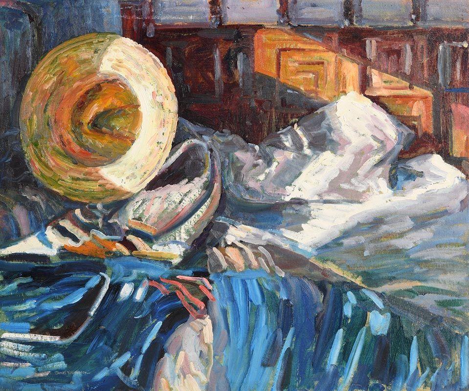 James O'Halloran, Music Room at Morgan O'Driscoll Art Auctions