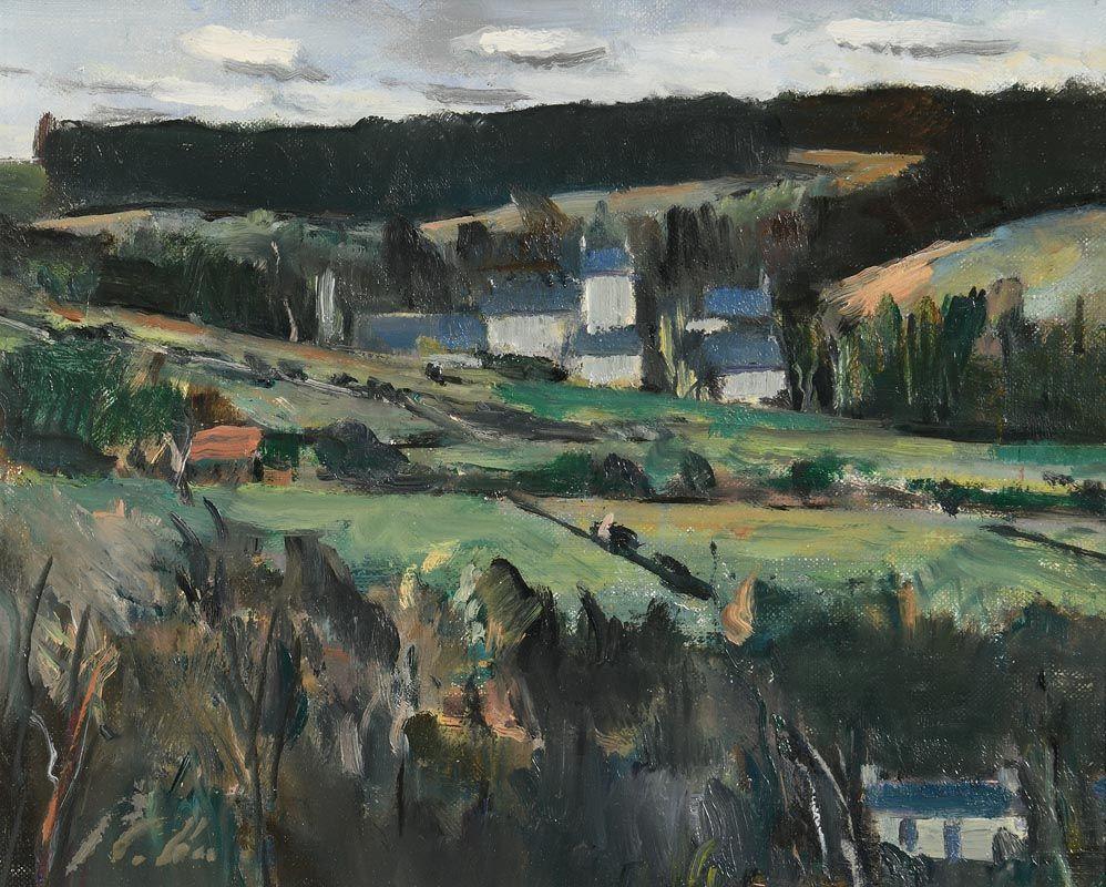 Peter Collis, Glencree at Morgan O'Driscoll Art Auctions