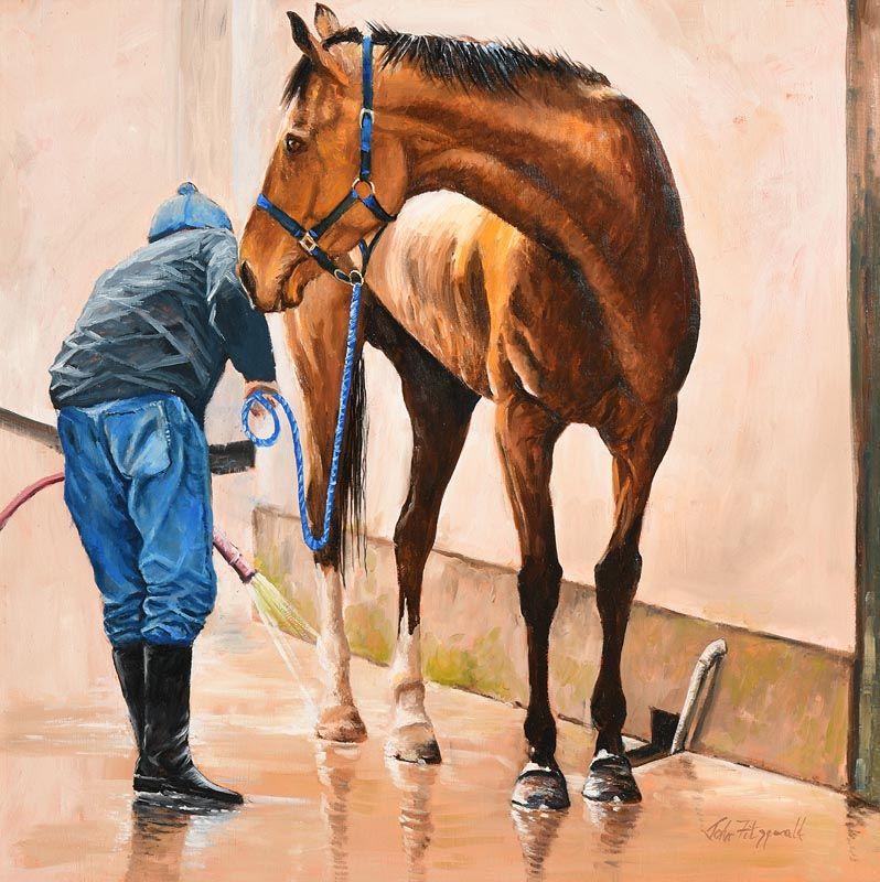 John Fitzgerald, Wash Down at Morgan O'Driscoll Art Auctions