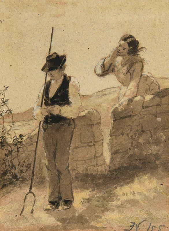 Erskine Nicol, Whisper at Morgan O'Driscoll Art Auctions