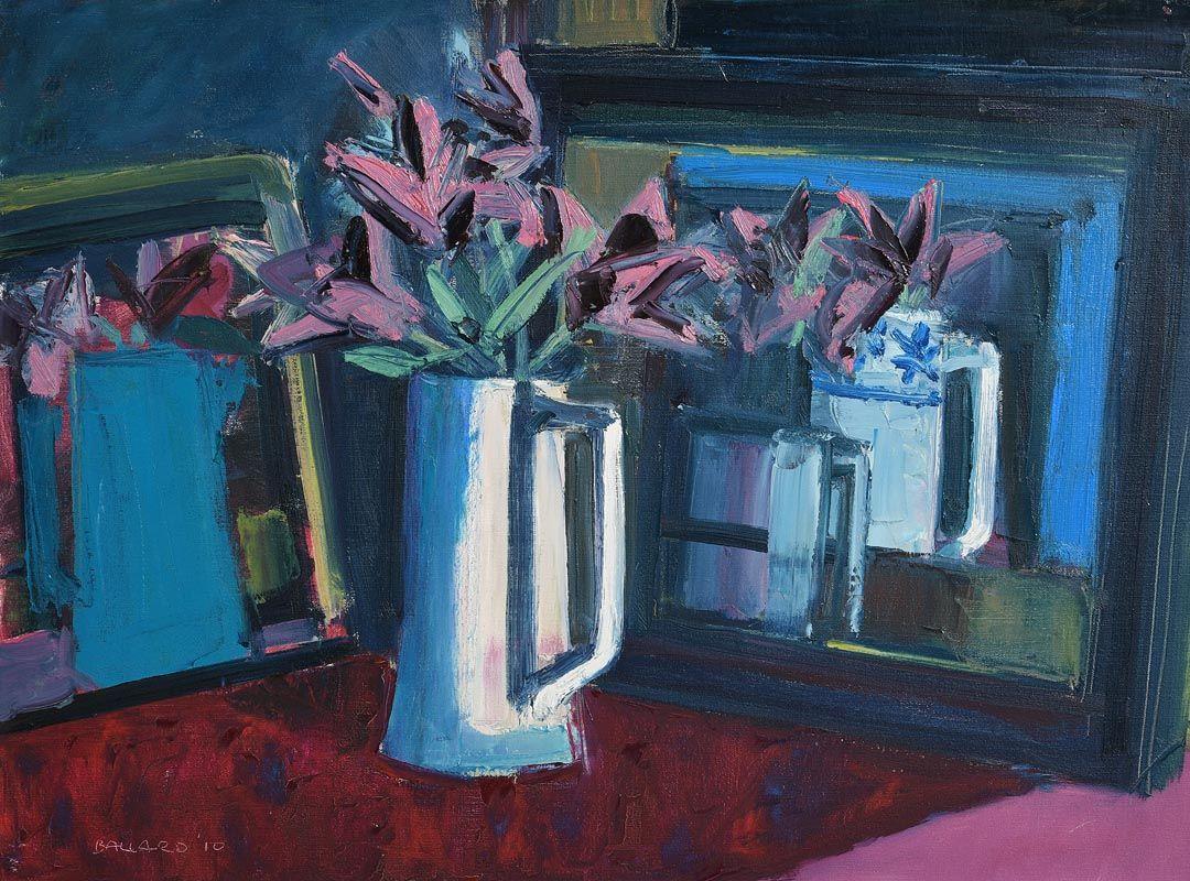 Brian Ballard, Lilies Reflected (2010) at Morgan O'Driscoll Art Auctions
