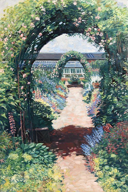 Hector McDonnell, Casslido Garden (2008) at Morgan O'Driscoll Art Auctions