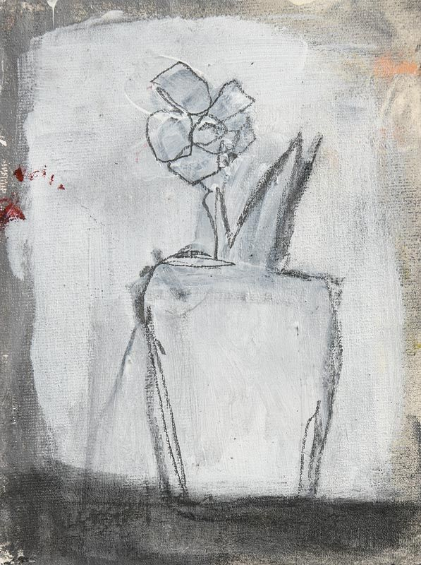 Basil Blackshaw HRHA RUA (1932-2016), Still Life - Potted Plant at Morgan O'Driscoll Art Auctions