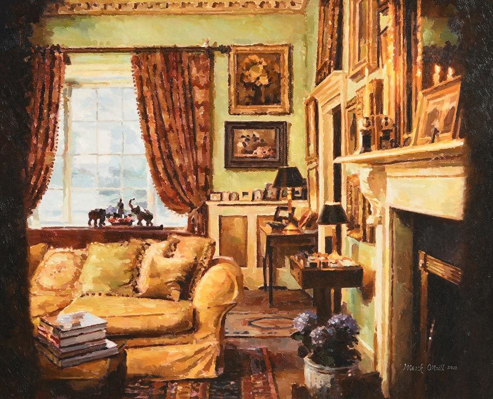 Mark O'Neill, Tuke Drawing Room (2002) at Morgan O'Driscoll Art Auctions