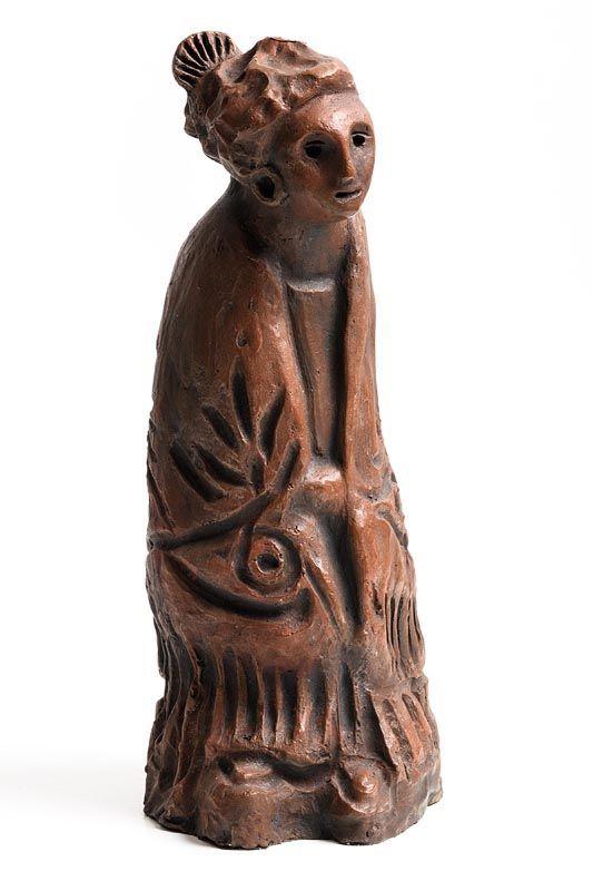 Markey Robinson, Shawlie at Morgan O'Driscoll Art Auctions