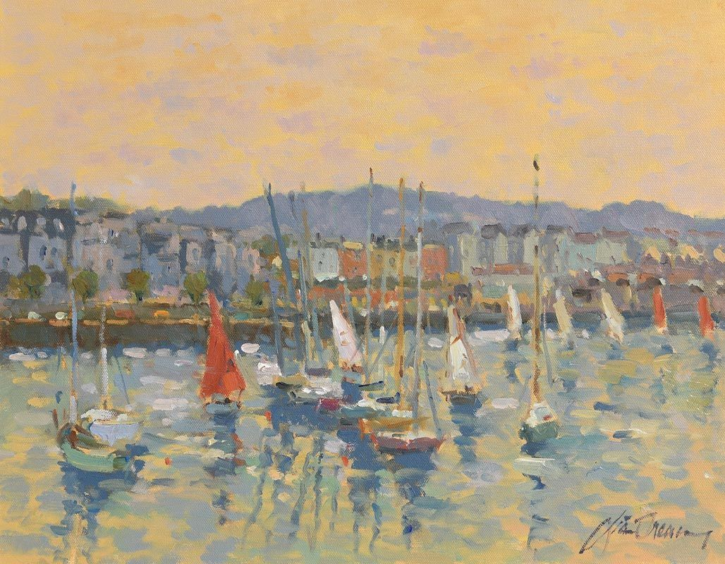 Liam Treacy, Dun Laoghaire at Morgan O'Driscoll Art Auctions