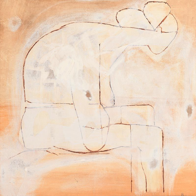 Colin Middleton, Seated Lady at Morgan O'Driscoll Art Auctions