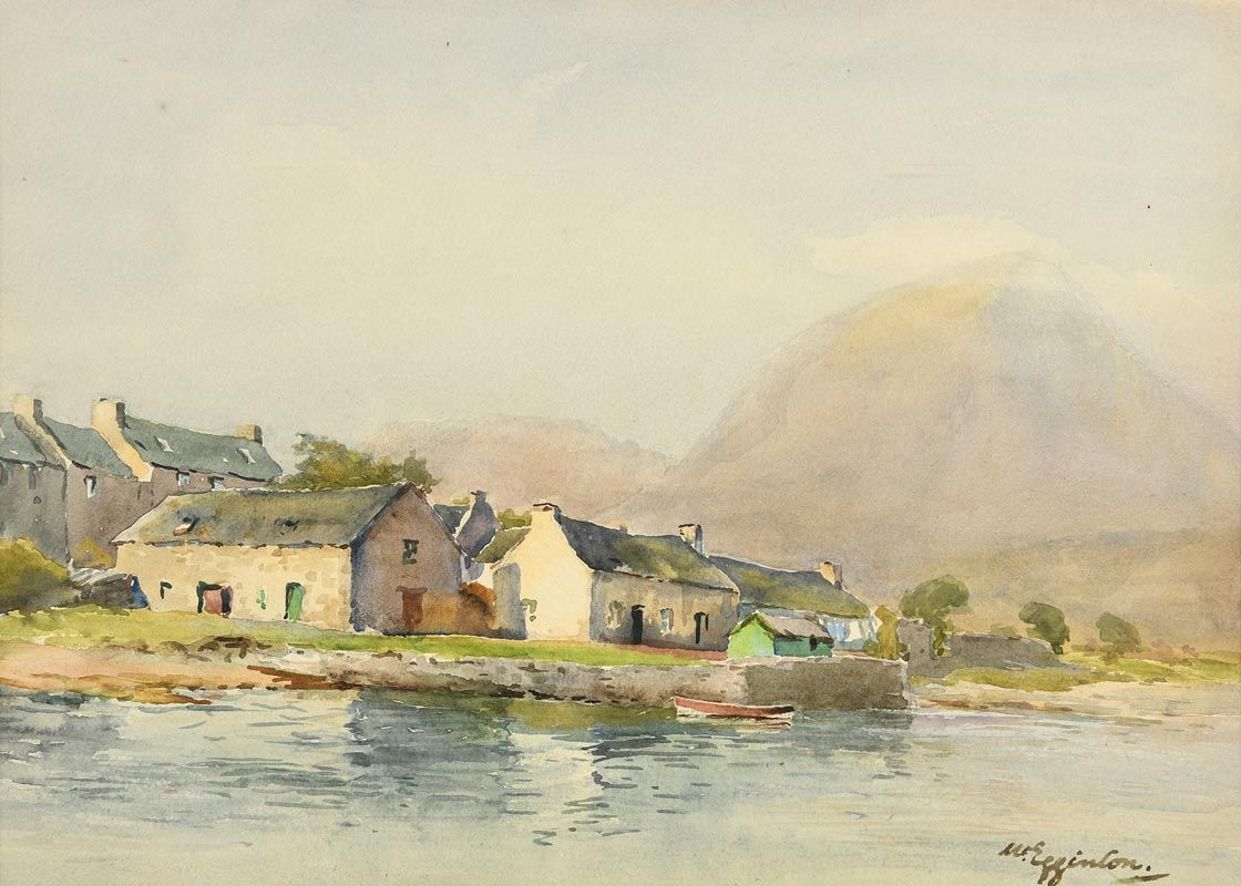 Wycliffe Egginton, A Misty Morning, Broadford, Skye at Morgan O'Driscoll Art Auctions