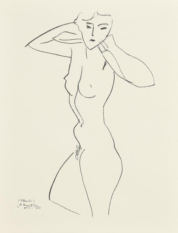 Henri Matisse, Nude at Morgan O'Driscoll Art Auctions