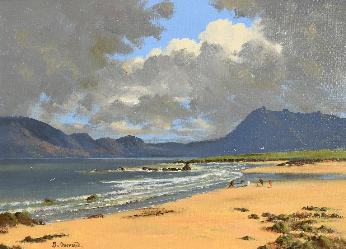 David Anthony Overend, Renvyle, Connemara at Morgan O'Driscoll Art Auctions
