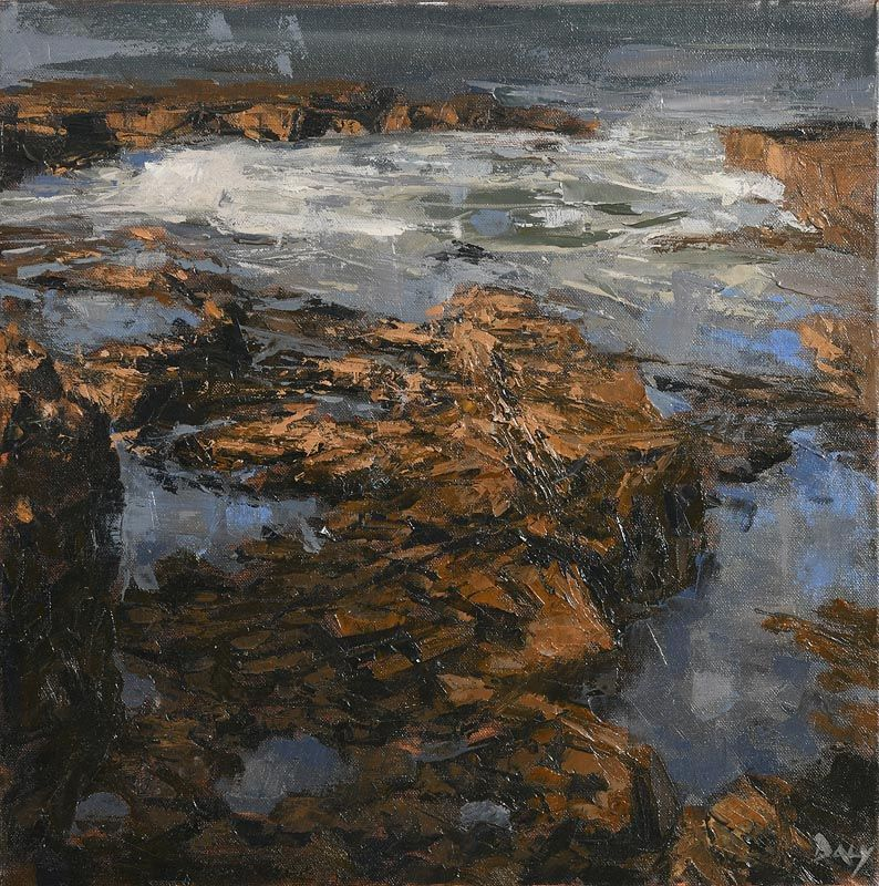 Ivan Daly, Contours, Co. Clare at Morgan O'Driscoll Art Auctions