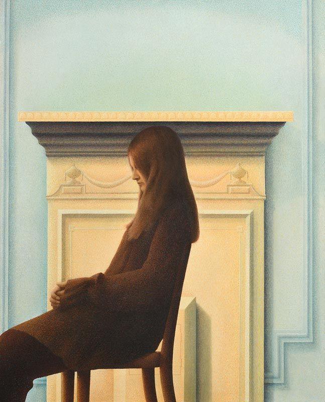 John Nuttal, Figure in an Interior at Morgan O'Driscoll Art Auctions
