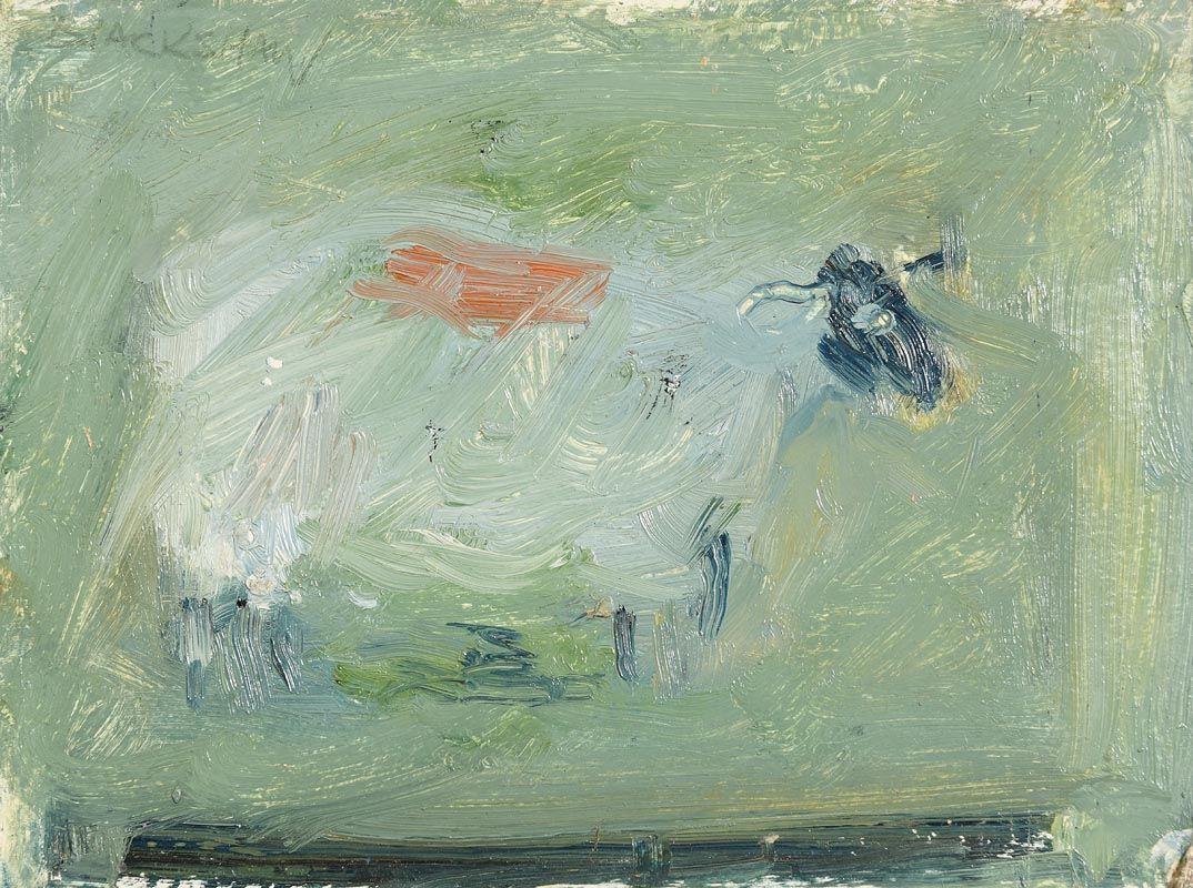 Basil Blackshaw, Lonesome Sheep at Morgan O'Driscoll Art Auctions