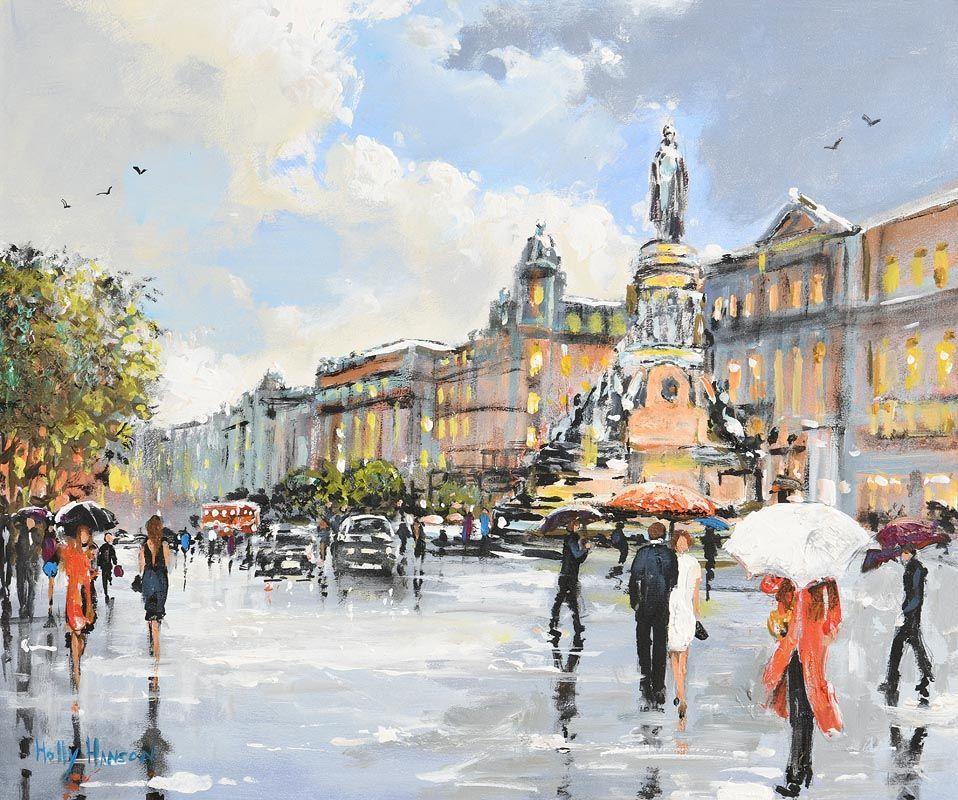 Holly Hanson, O'Connell Street, Dublin at Morgan O'Driscoll Art Auctions