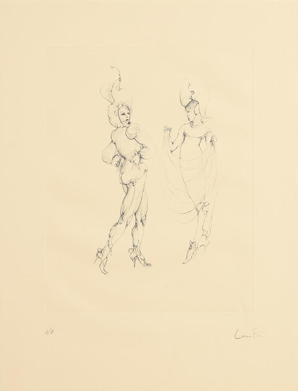Leonor Fini, Untitled at Morgan O'Driscoll Art Auctions
