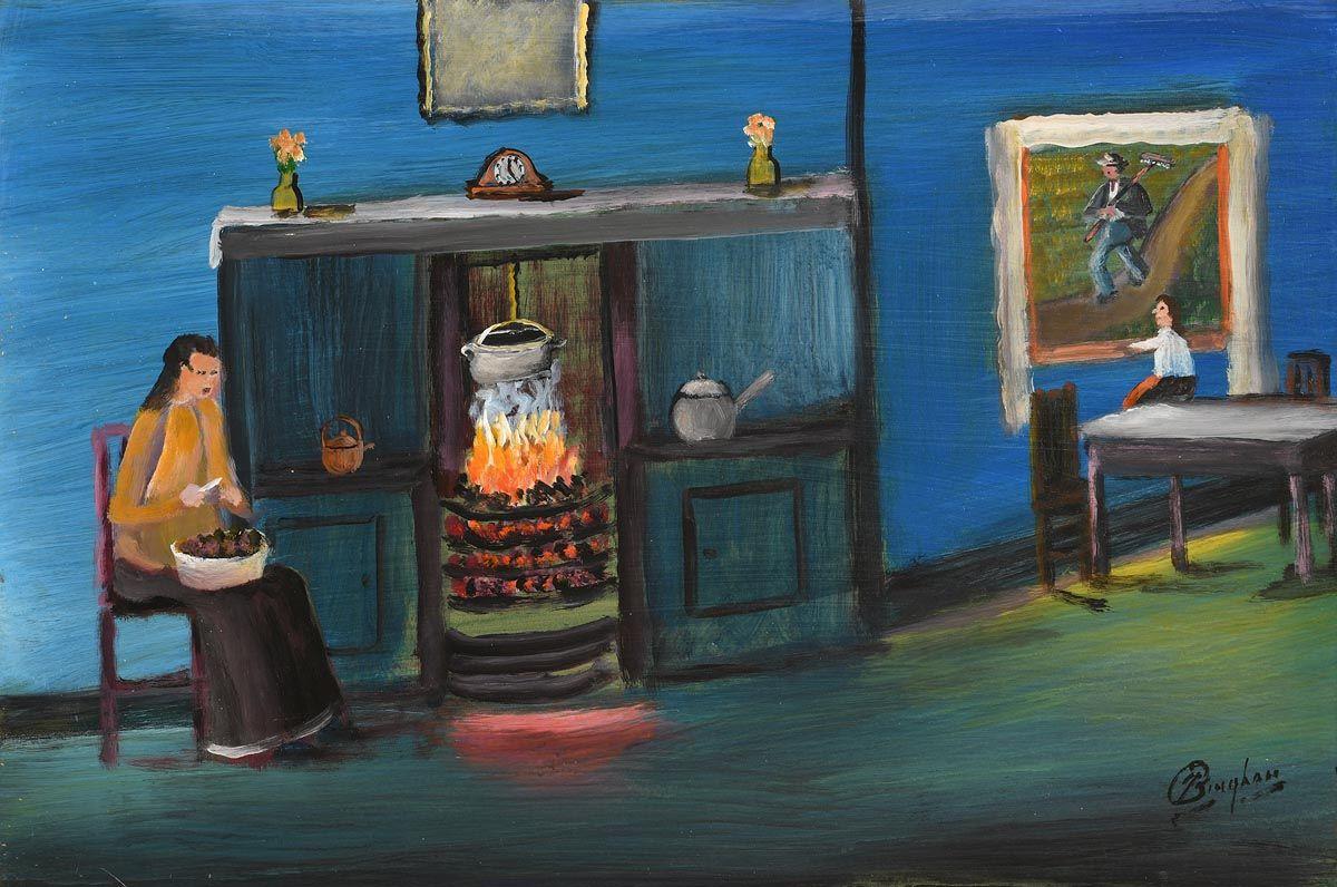 Jimmy Bingham, Hers's Me Da at Morgan O'Driscoll Art Auctions