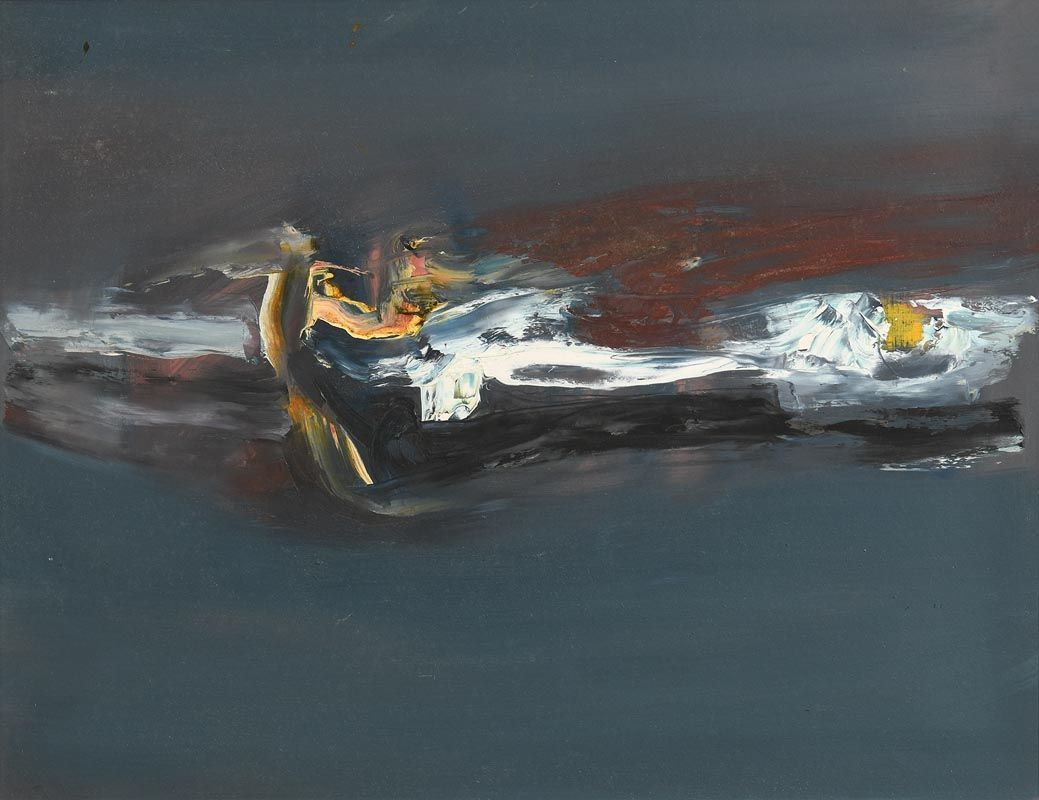 Gerald Davis, Wild Night (1967) at Morgan O'Driscoll Art Auctions