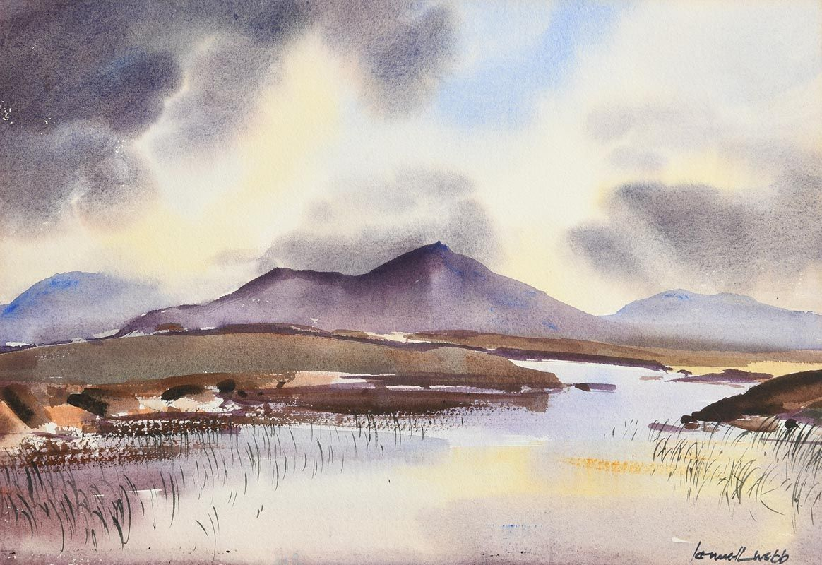 Kenneth Webb, Connemara Landscape at Morgan O'Driscoll Art Auctions