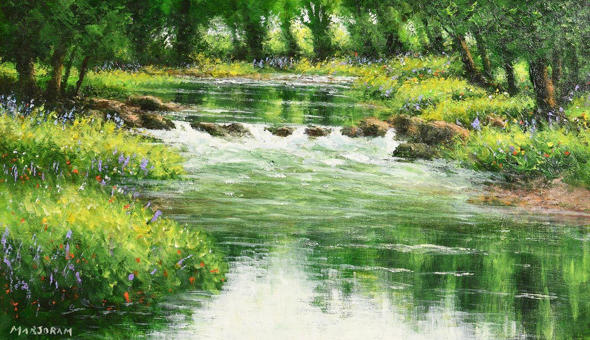 Gerard Marjoram, Green River at Morgan O'Driscoll Art Auctions