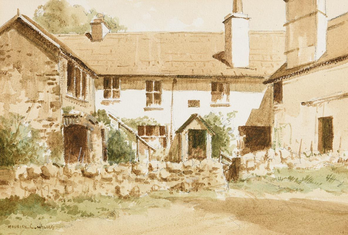 Maurice Canning Wilks, Hawkshead, Lake District at Morgan O'Driscoll Art Auctions