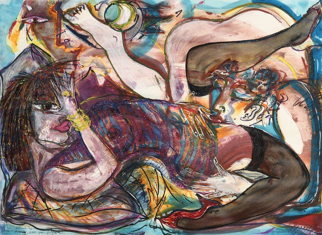 Frederic Pierre, Non, Meme le Diable N'est Pas Parfait (1990) at Morgan O'Driscoll Art Auctions