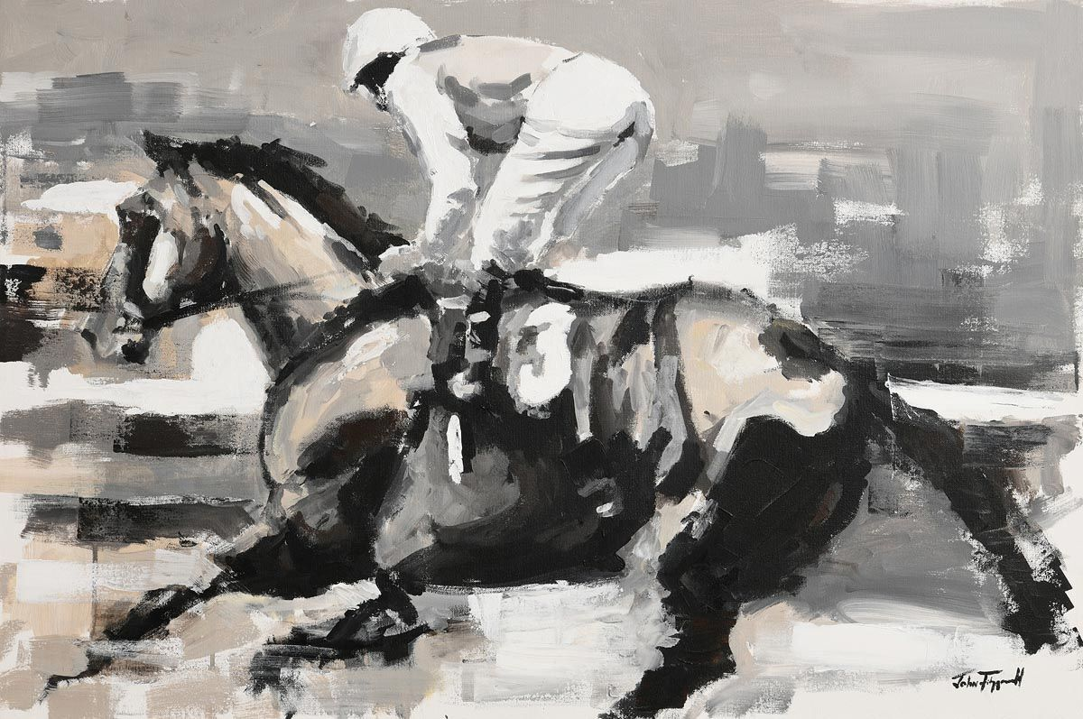 John Fitzgerald, Going to the Start at Morgan O'Driscoll Art Auctions