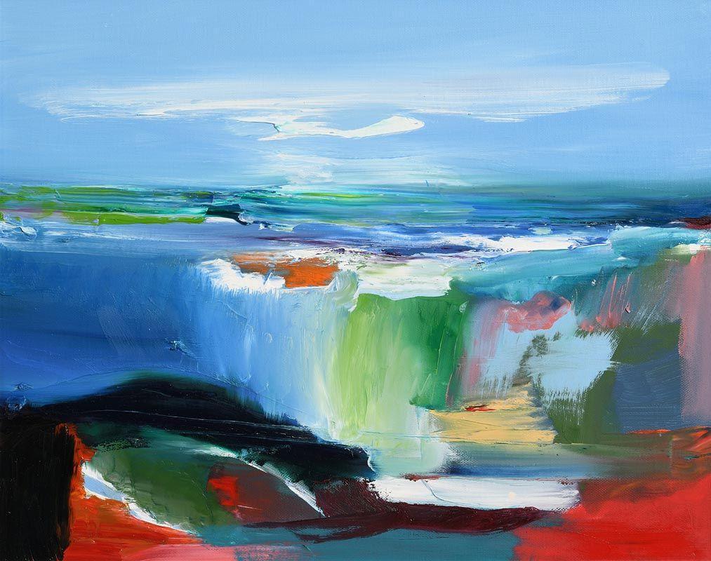 Majella O'Neill Collins, West Cork Seascape (2015) at Morgan O'Driscoll Art Auctions