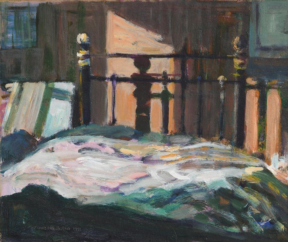 James O'Halloran, The Bedroom (1991) at Morgan O'Driscoll Art Auctions