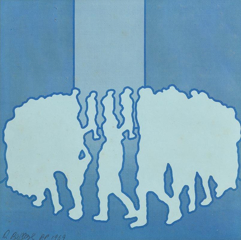 Robert Ballagh, The Marchers (1969) at Morgan O'Driscoll Art Auctions