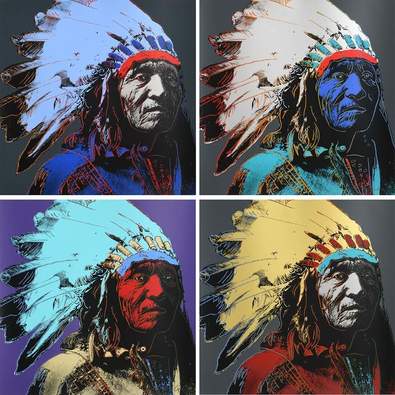 Jurgen Kuhl, Indian Chief's (4) at Morgan O'Driscoll Art Auctions