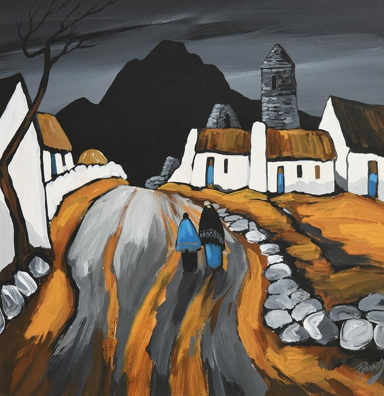 J.P. Rooney, The Tower by the Hill at Morgan O'Driscoll Art Auctions