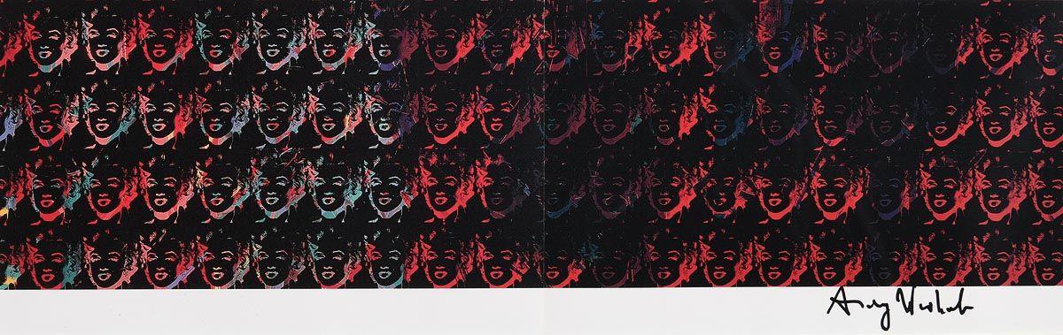 Andy Warhol, Marilyns (1982) at Morgan O'Driscoll Art Auctions