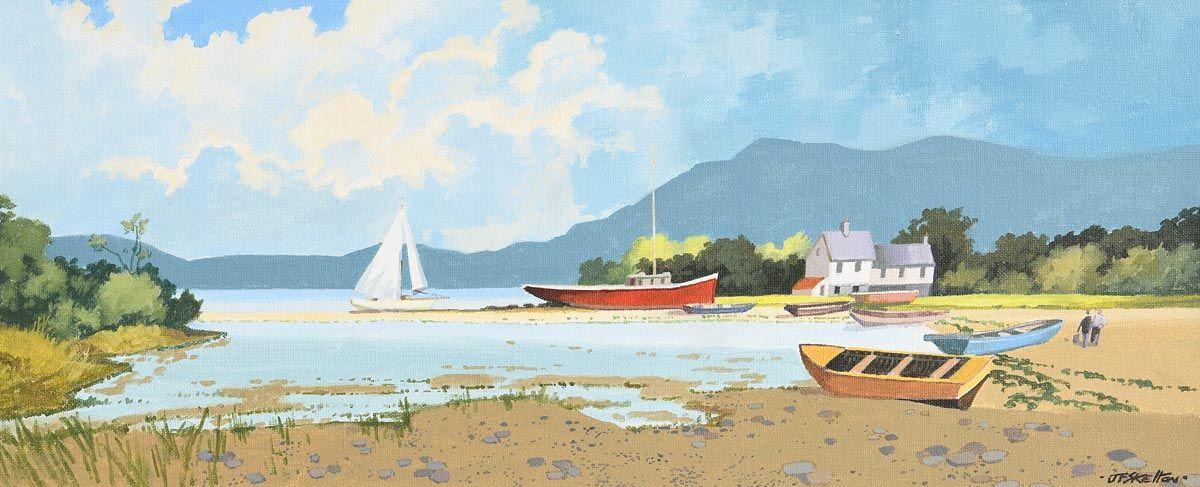John Francis Skelton, Marsh Mellow, Bantry Bay and Hungry Hill, Cork at Morgan O'Driscoll Art Auctions