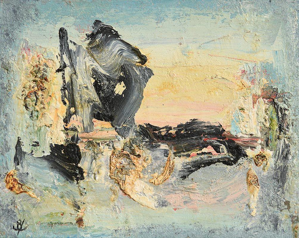 John Kingerlee, Figures in Landscape (2005) at Morgan O'Driscoll Art Auctions