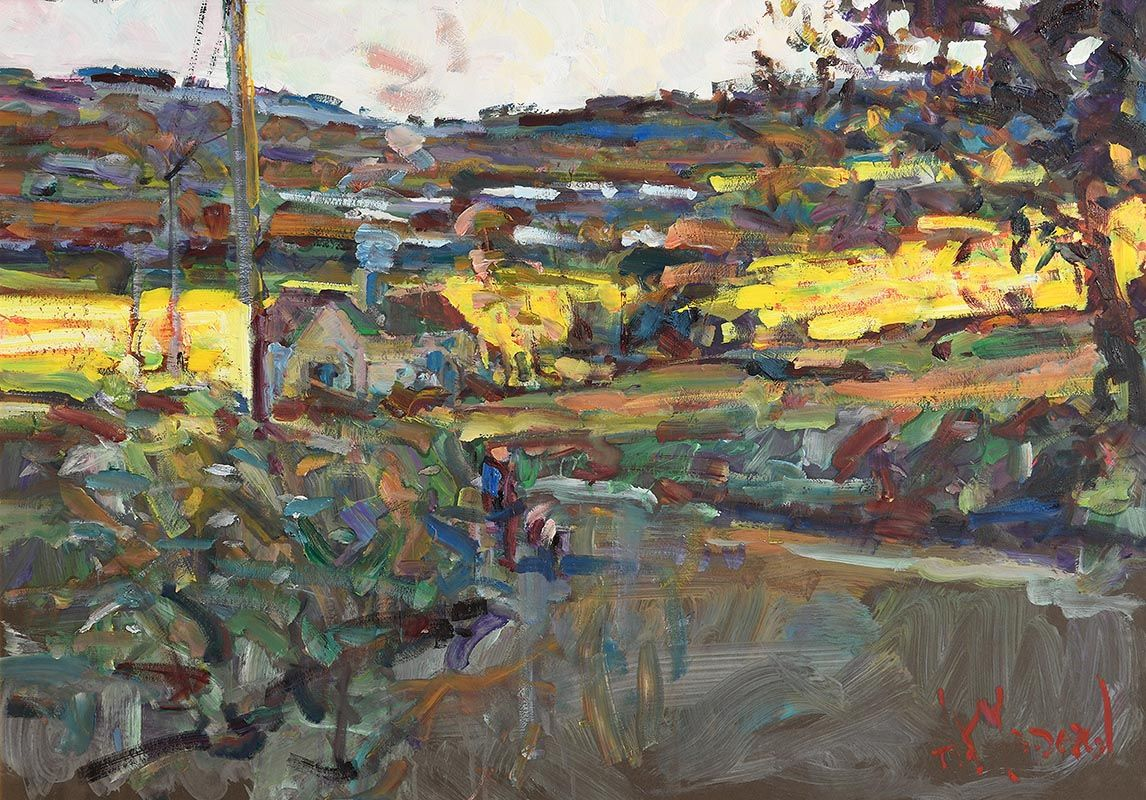 Arthur K. Maderson, May Evening, The Bride Valley at Morgan O'Driscoll Art Auctions