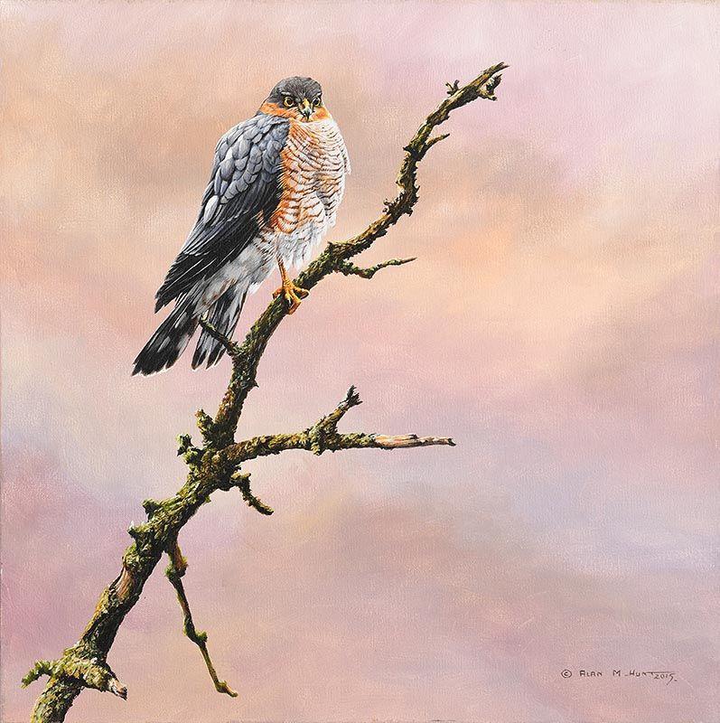 Alan M. Hunt, Sparrow Hawk (2015) at Morgan O'Driscoll Art Auctions