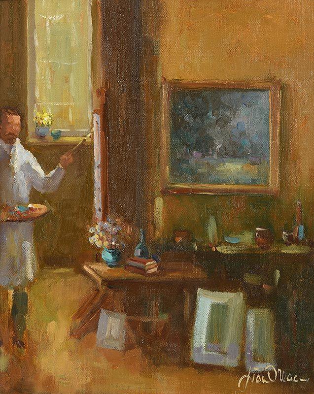 Liam Treacy, Interior at Morgan O'Driscoll Art Auctions