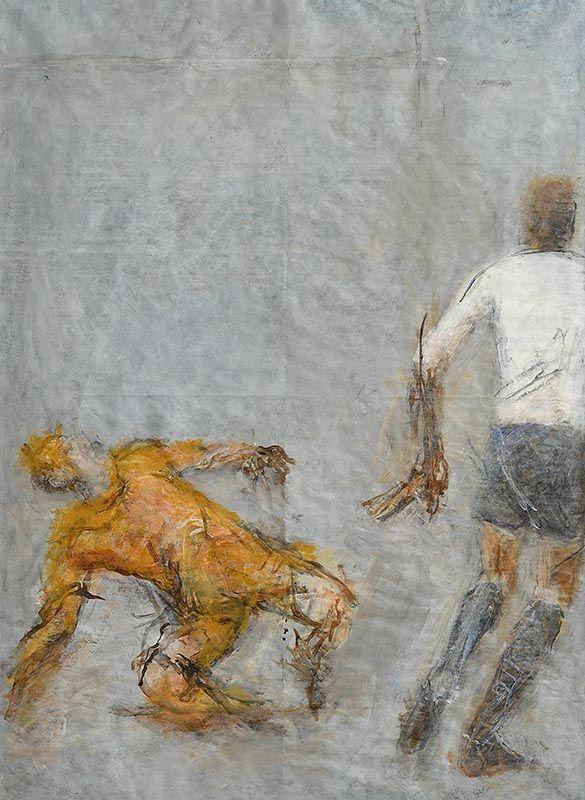 Joseph O'Connor, The Game at Morgan O'Driscoll Art Auctions
