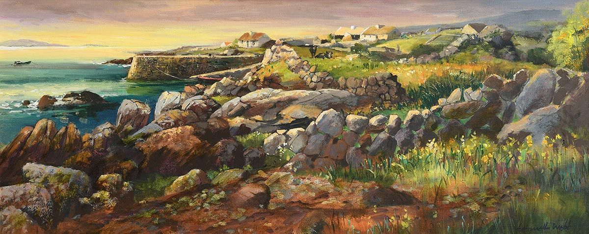 Kenneth Webb, West of Ireland Landscape at Morgan O'Driscoll Art Auctions