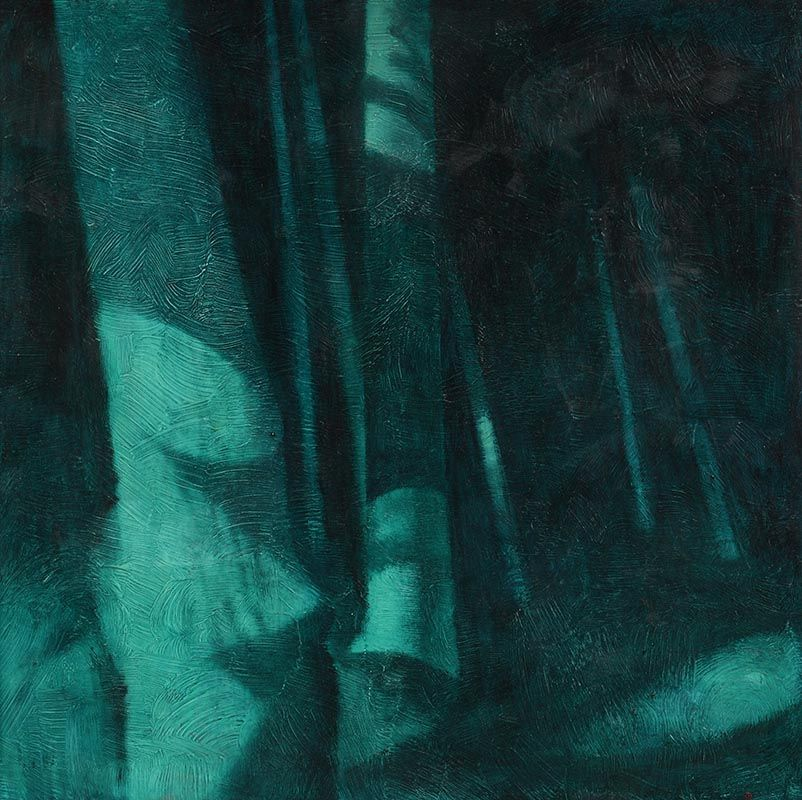 Colin Middleton, The Enchanted Greenwood (1961) at Morgan O'Driscoll Art Auctions