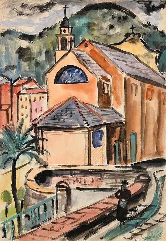 Norah McGuinness, Santa Margherita at Morgan O'Driscoll Art Auctions
