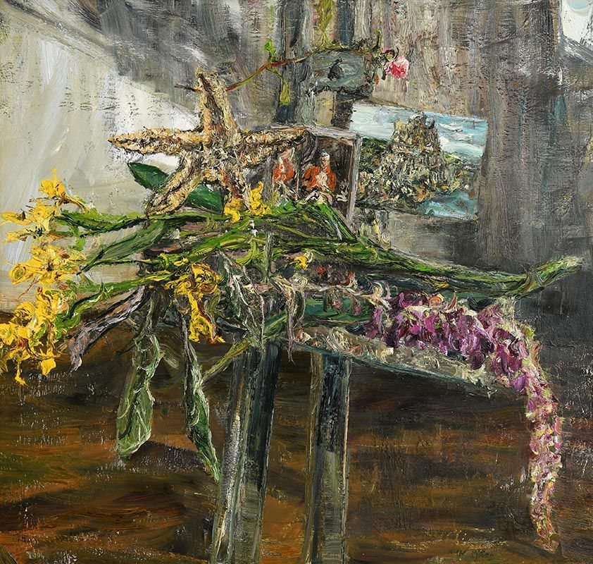Nick Miller, Portrait of Kevin Volans as Still Life (2004) at Morgan O'Driscoll Art Auctions
