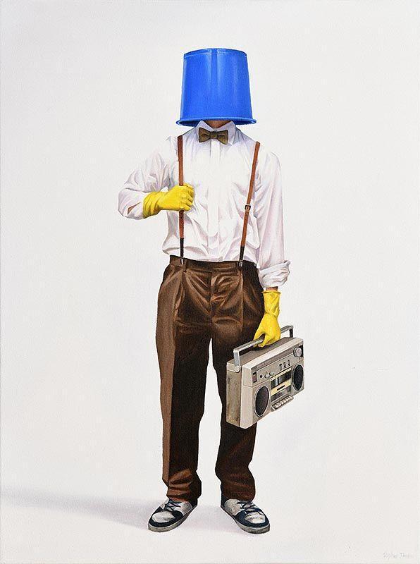 Stephen Johnston, The Butler at Morgan O'Driscoll Art Auctions
