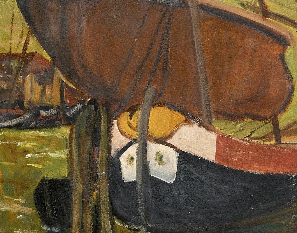 Grace Henry, Boats at  Chioggia at Morgan O'Driscoll Art Auctions