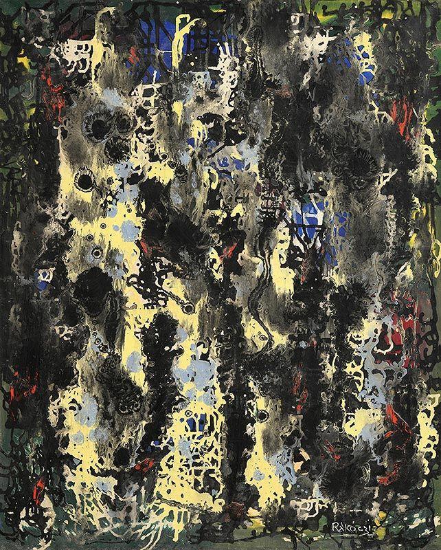 Basil Ivan Rakoczi, Forêt (1962) at Morgan O'Driscoll Art Auctions