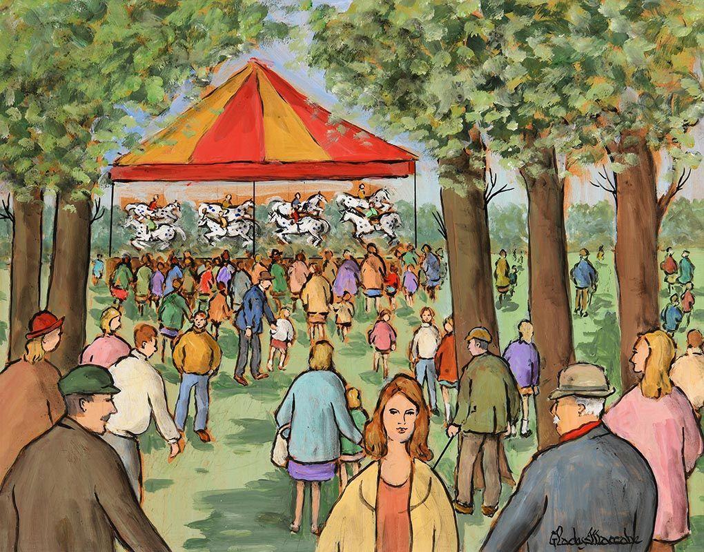 Gladys MacCabe, Hobby Horses at Morgan O'Driscoll Art Auctions