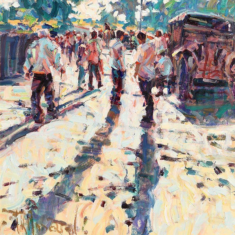 Arthur K. Maderson, Point of Sunset, Tallow Horse Fair at Morgan O'Driscoll Art Auctions